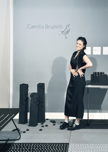 Camilla Brunelli; Salone Satellite 2016; Booth