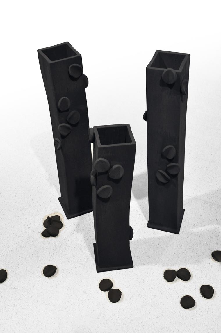 C Brunelli Coal Vases top 72