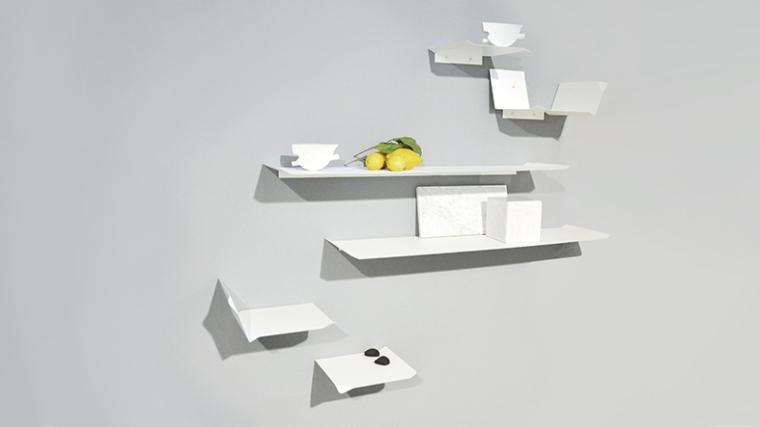 C Brunelli design Fold shelves 72